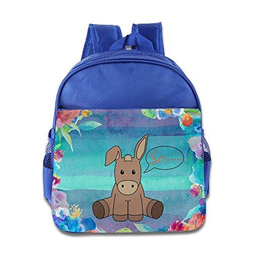 KIDDOS Infant Toddler Kids Donkey Backpack Bag, RoyalBlue (Shera Costumes)