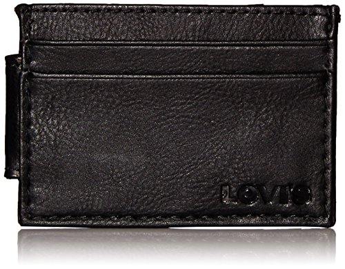 Levis Mens Holder Wallet Embossed