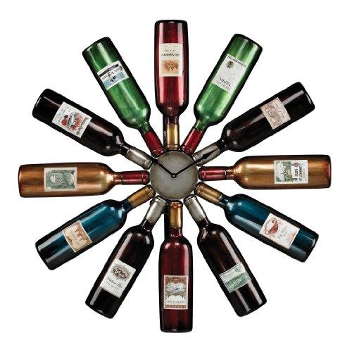 Sterling Wine Bottle Clock