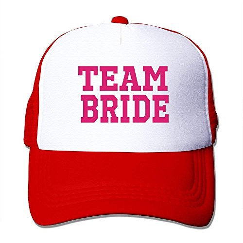Royalblue Szie Team One Unisex Bride Red Baseball Cap with wq4qBPH