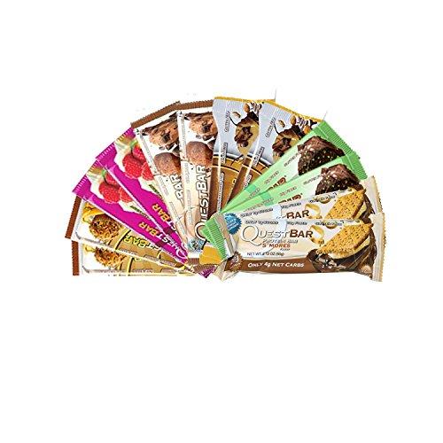 Quest Nutrition- New Quest Bar Confection Bundle 12 - Quest Bar White Chocolate