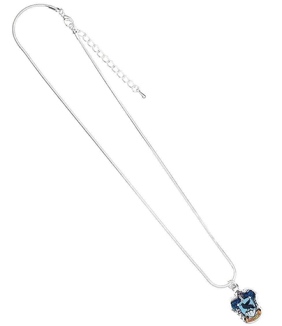 Officially Licensed Harry Potter Silver Plated Ravenclaw Crest Necklace WN0025