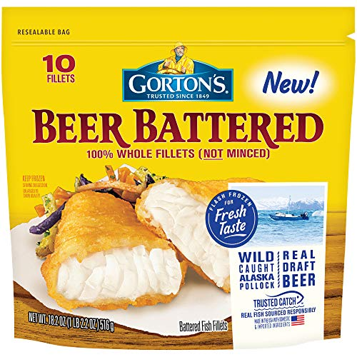 Gorton's, Classic Beer Batter Crispy Fillets, 18.2 oz ()
