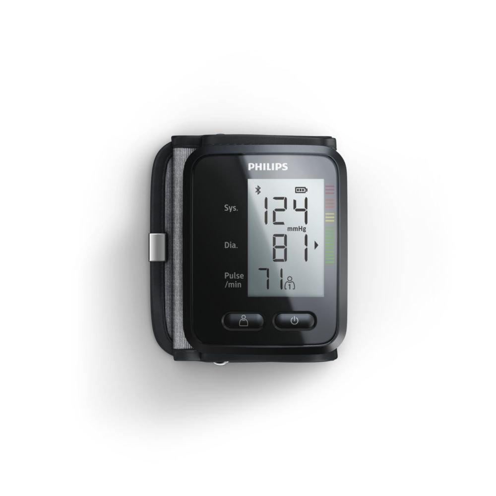 Philips DL8765/01AL - Tensiómetro (Antebrazo, Automático, Negro, 2 usuario(s), 40-199, 13,5-21,5 cm): Amazon.es: Hogar