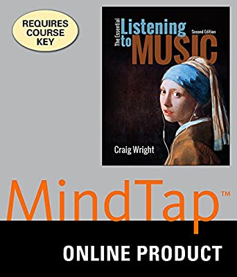 MindTap Music (with Active Listening Guide) for Wright's The Essential Listening to Music, 2nd Edition