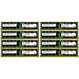 A-Tech Micron 64GB Kit 8 x 8GB PC3-10600 1.35V For Dell Precision Workstation T5600 20D6F T7500 SNPJDF1MC/16G T7600 A6996807 T5500 A2626071 A2626092 A3721494 A3721500 A3721505 Memory RAM