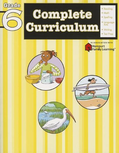 Complete Curriculum Grade 6 (Flash Kids Harcourt Family Learning ...