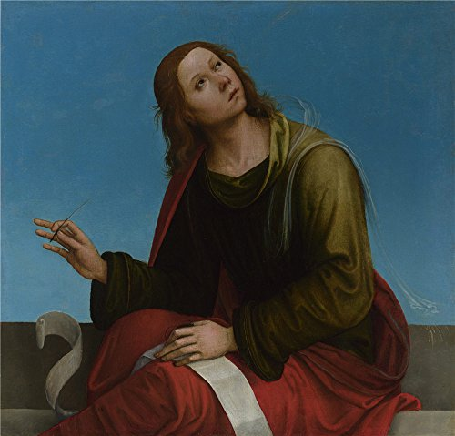 Rica Costumes Native Costa (Perfect Effect Canvas ,the High Quality Art Decorative Prints On Canvas Of Oil Painting 'Lorenzo Costa Saint John The Evangelist ', 8 X 8 Inch / 20 X 21 Cm)