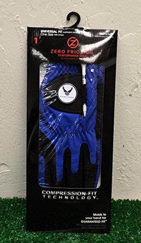 Zero Friction Men's Left Hand Universal Golf Glove - Air Force - Blue -