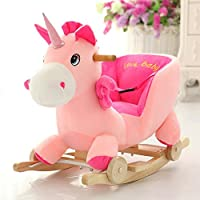 Tickles Unicorn Plush Baby Rocking Chair(50 cm)