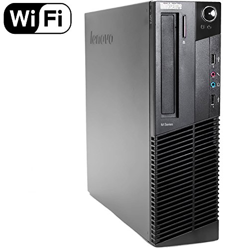 Lenovo ThinkCentre M92p High Performance Small Factor Desktop Computer, Intel Core i5-3470 CPU up to 3.6GHz, 8GB DDR3 RAM, 2TB HDD, DVDRW, Windows 10 Professional 64 Bit (Certified Refurbished)