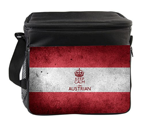 Austrian Black Insulated Thermal - Cooler Bag