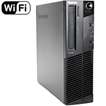 2018 Lenovo ThinkCentre M92p High Performance Small Factor Form Business Desktop Computer, Intel Core i5-3470 3.2GHz, 8GB DDR3 RAM, 500GB HDD, DVD, Windows 10 Professional (Renewed)