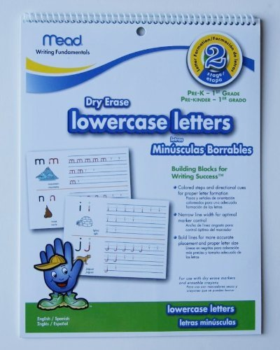 Write Wipe Off lowercase letters Pre K