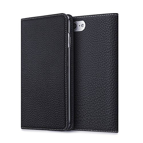 - BEST SELLER! Genuine Leather Wallet Case, Slim Fit Diary Leather Case with Slots for Credit Cards and Cash for Iphone 6 or 6s /Iphone 6 4.7 Inch - Navy