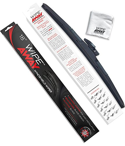 Wipe Away Windshield Wiper Blade - Silicone Windshield Wiper Blade - 18