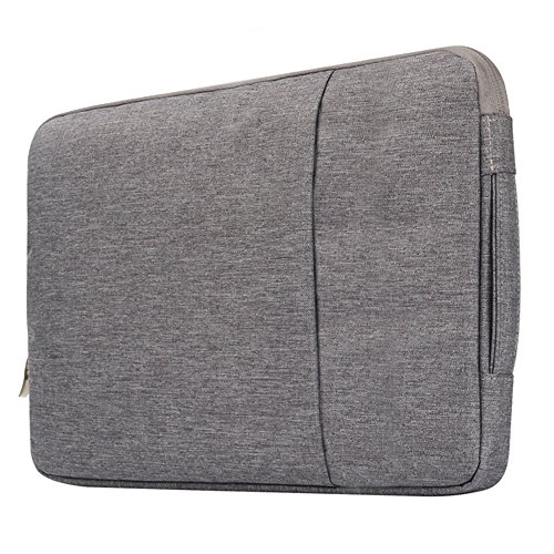 Price comparison product image Businda Macbook Polyester Multifunctional Fabric Laptop Sleeve Briefcase Handbag Case for MacBook Pro 15 - Gray