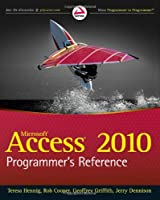Access 2010 Programmer's Reference Front Cover
