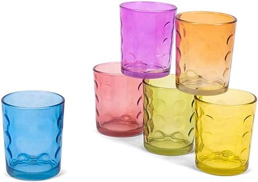 Gerimport Pack 6 Vasos Capri 267 Ml - Cristal: Amazon.es: Hogar