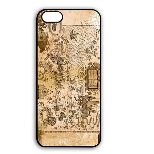 Coque,Harry Potter Map Design Shell Cover for Coque iphone 6 4.7 pouce Back Casing With Best Plastic - Cool Coque iphone 6 Phone Case Cover for Boys