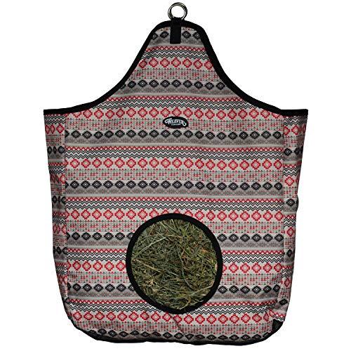 Weaver Leather Hay Bag, Crimson Aztec