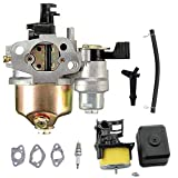 LIYYOO 16100-ZH8-W61 Carburetor Kit includ Air Filter Spark Plug Replacement for Honda Engine Generator Lawn Mower Motor GX120 Gx140 Gx160 Gx200 5.5hp 6.5hp