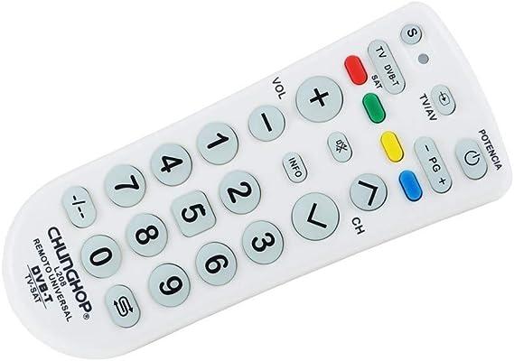 TrAde Shop Traesio- Mando a Distancia Universal Chunghop L208 TV ...