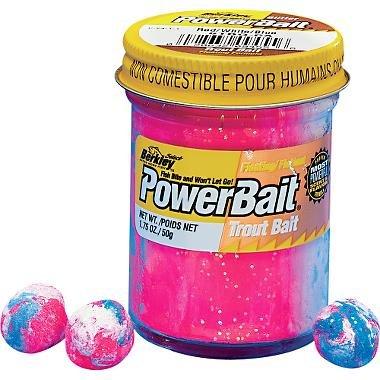 (Berkley Powerbait Glitter Trout Dough Bait)