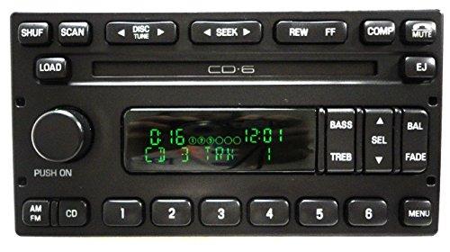 ford 6 disc cd changer - 6