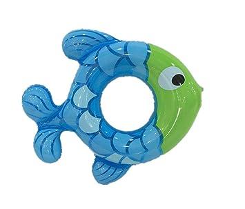 ZWB niños natación Anillo bebé Flotador Bebés hinchable abertura de círculos, 50cm (blue): Amazon.es: Deportes y aire libre