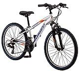 Schwinn High Timber Mountain Bike, Steel Frame, 29-Inch Wheels, Matte Black