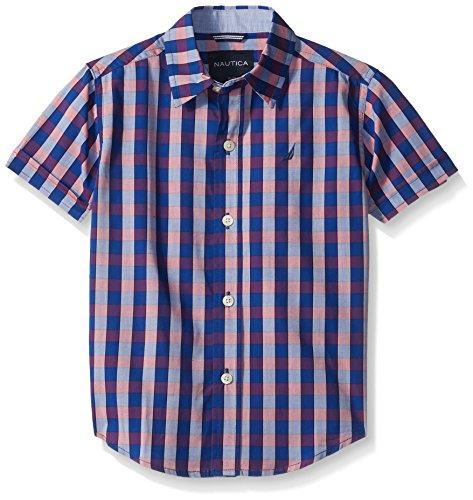 nautica-little-boys-short-sleeve-two-tone-check-shirt-cobalt-extra-large-7x