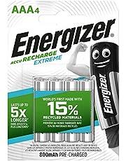 Batterie Ministilo Ricaricabili Nimh Aaa 1.2 V Extreme 800 Mah (4 Pz)