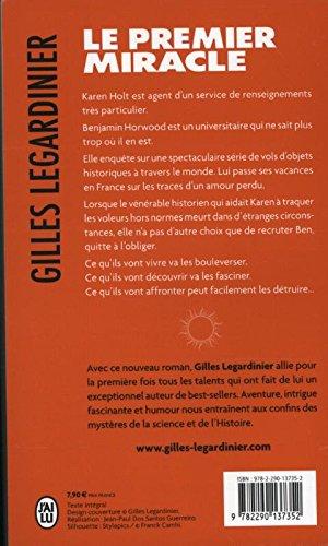 Le premier miracle gilles legardinier 9782290137352 amazon books fandeluxe Gallery