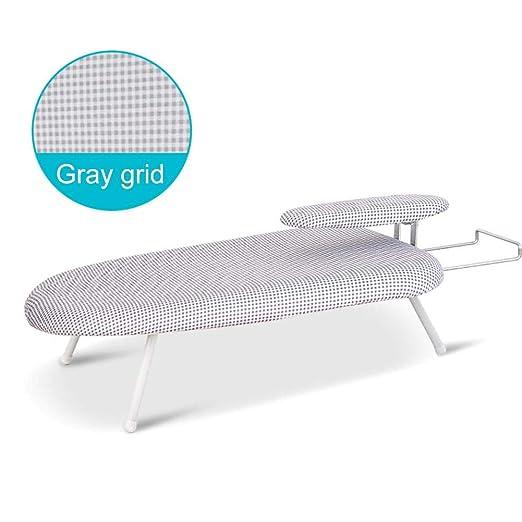 Mona43Henry Tabla de planchar de mesa con patas plegables, tabla ...