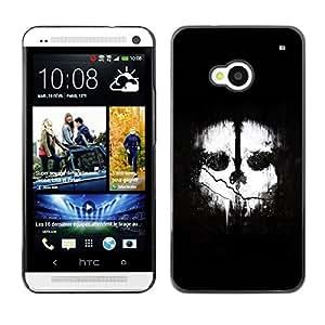 "For HTC One ( M7 ) , S-type Dos caras"" - Arte & diseño plástico duro Fundas Cover Cubre Hard Case Cover"