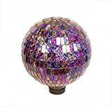 Echo Valley 8210 10-Inch Mosaic Glass Gazing Globe, Parti-Color