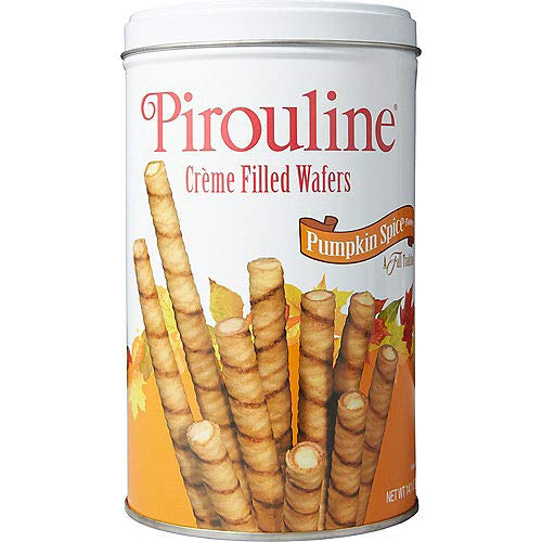 Exclusive Pirouline Pumpkin Spice Creme Filled Wafers! by Peter DeBeukelaer Baking Company