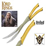 United Cutlery LOTR - Officially Licensed Fighting Knives Of Legolas Greenleaf