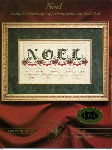 Hardanger Sampler - Noel : Sampler, Stocking Cuff, Ornaments, and Bell Pull [In Hardanger]