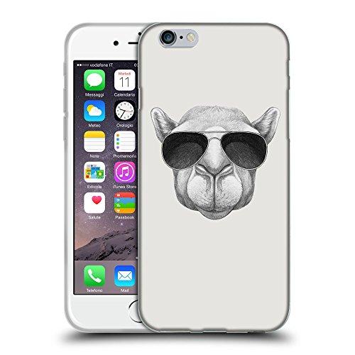 """GoGoMobile Coque de Protection TPU Silicone Case pour // Q05460631 Chameau soleil Platine // Apple iPhone 6 PLUS 5.5"""""""