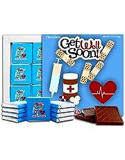 DA Chocolate Candy Souvenir GET Well Soon Chocolate Gift Set 13x13cm 1 Box