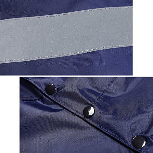 NYDZDM imperméable Imperméable Ensemble Hommes Imperméable Imperméable Veste Manteau & Pantalon Pantalon Bas Ensemble Costume Travail Camping Pêche Bleu (Size : XL)