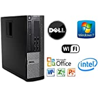 Custom Dell Gaming Small Form Factor PC Intel Quad Core i5 3.1GHz Windows 7 Pro / 8GB RAM / NEW 120GB Solid State Drive SSD / WiFi / + 1GB HDMI NVIDIA