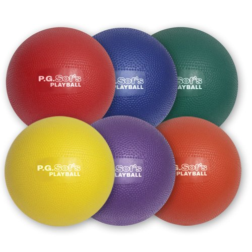 Color My Class P.G. Sof's Balls 6'' by BSN Sports (Image #1)
