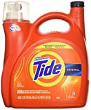 Tide Original 037000777335 High Efficiency Laundry Detergent 150 Oz / 4.43L Mega Value Size -110 Loads (2x Ultra Concentrated) More...