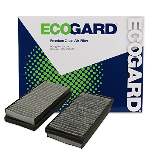 ECOGARD XC15471C Cabin Air Filter with Activated Carbon Odor Eliminator - Premium Replacement Fits Buick Rendezvous / Chevrolet Venture, Uplander / Pontiac Montana, Aztek / Oldsmobile Silhouette