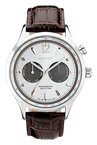 Gant Reloj Análogo clásico para Hombre de Cuarzo con Correa en Cuero W70612: Amazon.es: Relojes