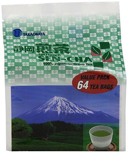 Takaokaya Green Sencha TeaBags Count