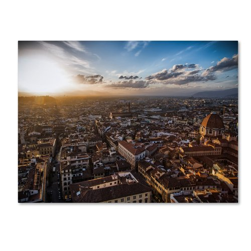 picture of Trademark Fine Art Florence Canvas Wall Art by Giuseppe Torre, 22 by 32-Inch